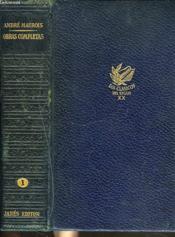 Obras Completas. Tomo I. Novelas. - Couverture - Format classique