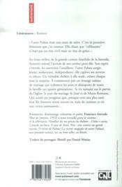 La recette magique de tante Palma - 4ème de couverture - Format classique