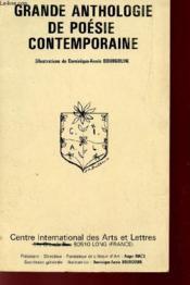 Grande Anthologie De Poesie Contemporaine. - Couverture - Format classique