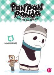Pan'Pan Panda ; Une Vie En Douceur T.4 - Couverture - Format classique
