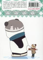 Pan'Pan Panda ; Une Vie En Douceur T.4 - 4ème de couverture - Format classique