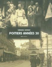 Poitiers, années 30 - Couverture - Format classique