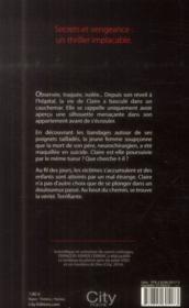 Memoria - 4ème de couverture - Format classique