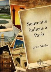 Souvenirs italiens à Paris - Couverture - Format classique