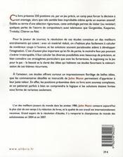 L'art des finales ; 250 études d'anthologie - 4ème de couverture - Format classique