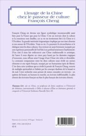 Image de la Chine chez le passeur de culture François Cheng - Couverture - Format classique