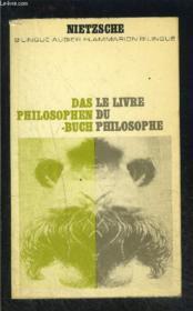 Le Livre Du Philosophe- Collection Bilingue Aubier N°29 - Couverture - Format classique