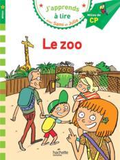 J'apprends à lire avec Sami et Julie ; CP niveau 2 ; le zoo - Couverture - Format classique