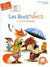 Mes premières lectures ; les rock'nimos ; le secret d'Achille - Couverture - Format classique