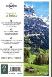 La Suisse (3e édition) - 4ème de couverture - Format classique