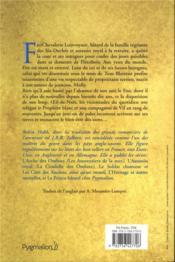 Le fou et l'assassin ; INTEGRALE VOL.1 - 4ème de couverture - Format classique