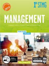 Parcours croisés ; management ; 1re STMG ; manuel élève (édition 2019) - Couverture - Format classique