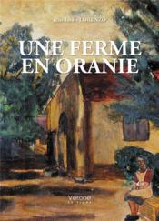 Une ferme en Oranie - Couverture - Format classique