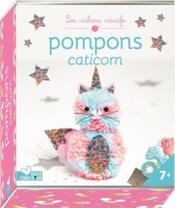 Pompons caticorn ; mini-boîte avec accessoires - Couverture - Format classique