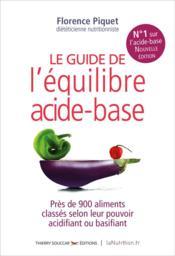 Le guide de l'équilibre acide-bas - Couverture - Format classique
