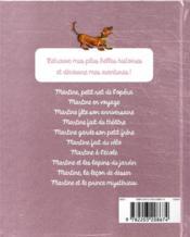 Martine, mes belles histoires 2020 - 4ème de couverture - Format classique