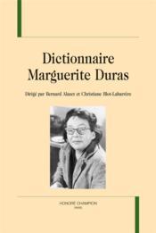 Dictionnaire Marguerite Duras - Couverture - Format classique