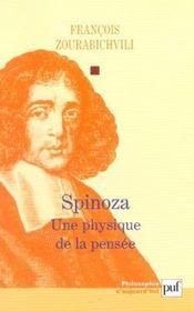 Spinoza - une physique de la pensée - Intérieur - Format classique