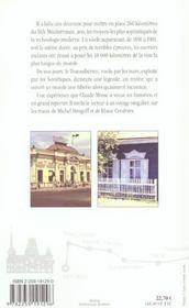 Le transsiberien - 4ème de couverture - Format classique