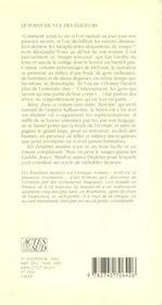 Les Fenetres Murees - 4ème de couverture - Format classique