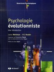 Psychologie évolutionniste - Intérieur - Format classique