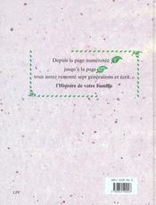 Le livre généalogique ; sept générations - 4ème de couverture - Format classique