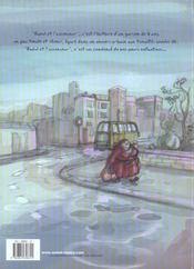 Raoul et l'ascenseur - 4ème de couverture - Format classique