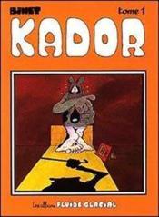 Kador t1 - Couverture - Format classique