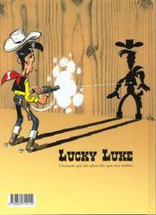Lucky Luke T.68 ; le prophète - 4ème de couverture - Format classique