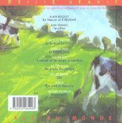 Le Bonheur - 4ème de couverture - Format classique