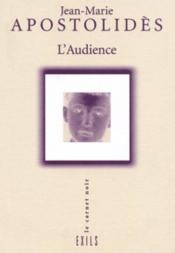 L'Audience - Couverture - Format classique