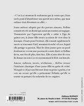 Belline - 4ème de couverture - Format classique