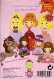 Les princesses - 4ème de couverture - Format classique