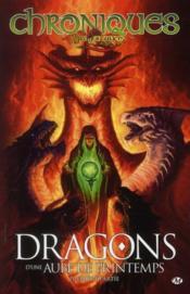 Chroniques de Dragonlance T.3 ; dragons d'une aube de printemps t.1 - Couverture - Format classique