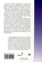 Herméneutique - 4ème de couverture - Format classique