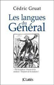 Les langues du Général - Couverture - Format classique
