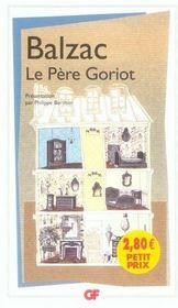 Le père Goriot - Intérieur - Format classique