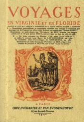 Voyages en virginie et en floride - Couverture - Format classique