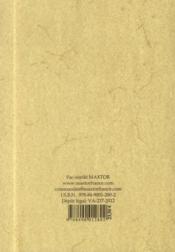 Voyages en virginie et en floride - 4ème de couverture - Format classique