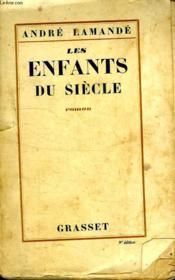 Les Enfants Du Siecle. - Couverture - Format classique