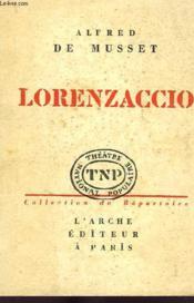 Lorenzaccio, Drame - Couverture - Format classique