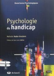 Psychologie du handicap - Couverture - Format classique