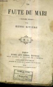 La Faute Du Mari - Madame Herbin. - Couverture - Format classique
