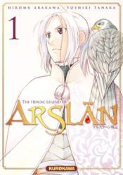 The heroic legend of Arslan T.1 - Couverture - Format classique