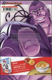 Food wars ! T.11 - 4ème de couverture - Format classique