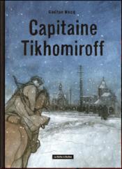 Capitaine Tikhomirof - Couverture - Format classique