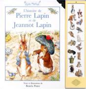 L'histoire de pierre lapin et jeannot lapin (livre musical) - Couverture - Format classique