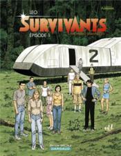 Survivants ; anomalies quantiques T.1 ; épisode 1 - Couverture - Format classique