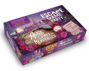 Escape game ; Alice au Pays des Merveilles - Couverture - Format classique