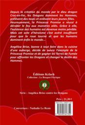 Angelica Brise contre les dragons t.1 ; maître Kram - 4ème de couverture - Format classique